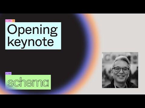 Opening Keynote - Conference Kickoff - Sho Kuwamoto (Schema 2021)