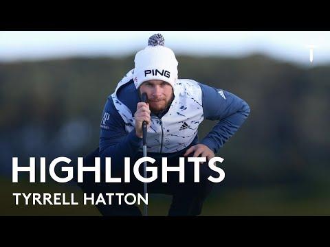 Tyrrell Hatton Round 2 Highlights | 2021 Alfred Dunhill Championship