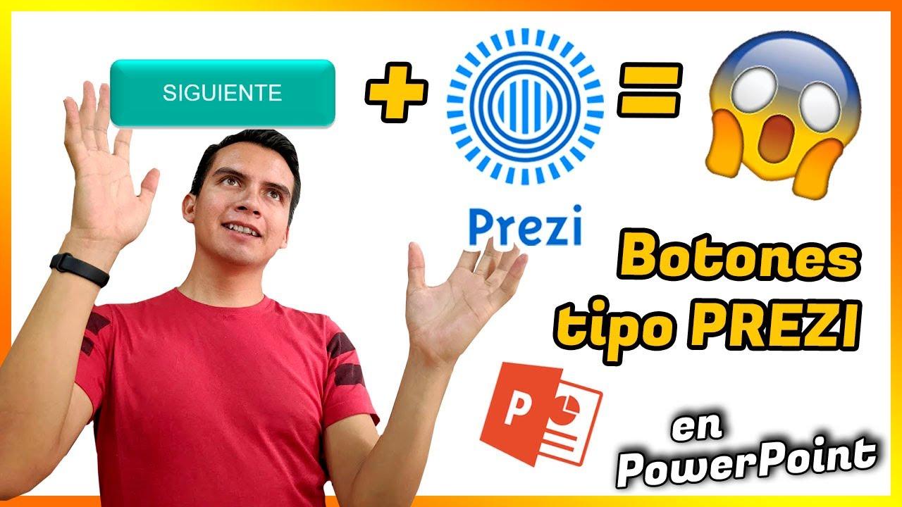 😉 Truco para hacer el efecto PREZI con BOTONES ✅ en PowerPoint ✅
