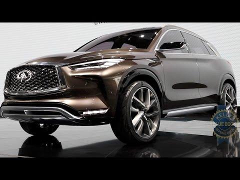 Infiniti QX50 Concept - 2017 Detroit Auto Show