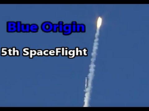 Blue Origin 5th SpaceFlight | Go To Space