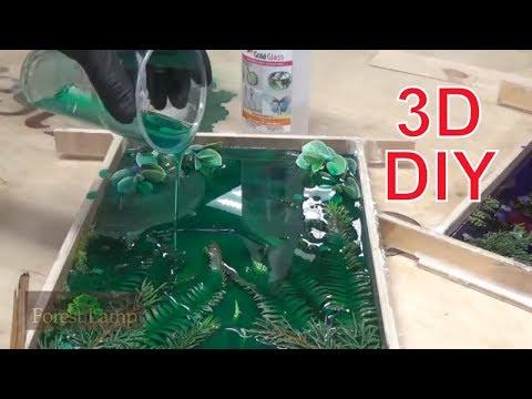 видео: Как же я раньше не додумался до этого! Из эпоксидной смолы)))) Ночной светильник 3d.