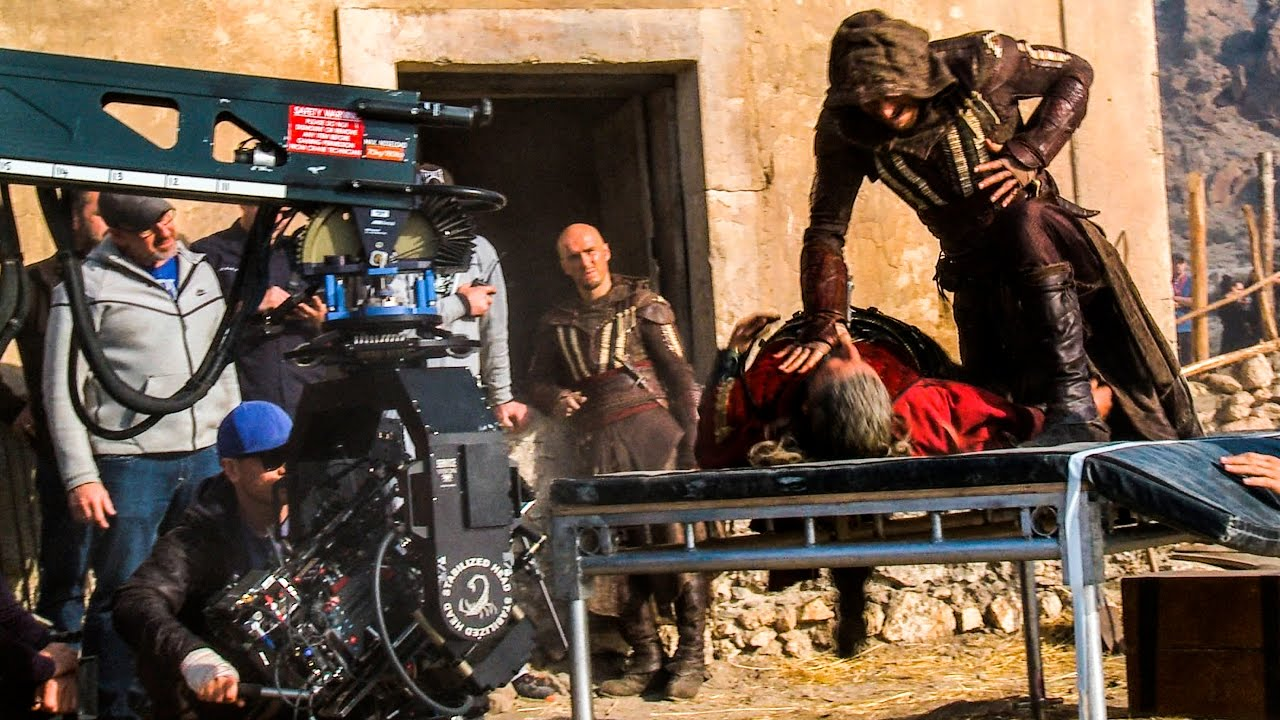 Assassins Creed Hollywood Movie Behind The Scenes With Damien Walters And Michael Fassbender Youtube