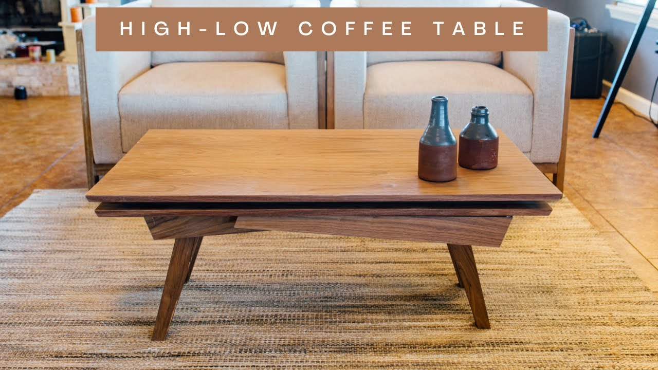 Transforming Coffee Table To Dining In Seconds Weekend Handy Woman Diy Ideas Home Repair Tips