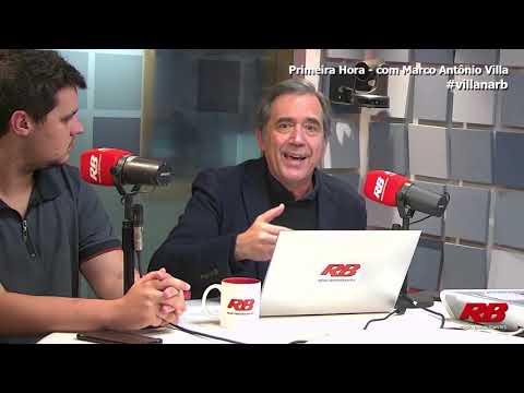 Professor Villa comenta entrevista de Glen Greenwald ao Roda Viva