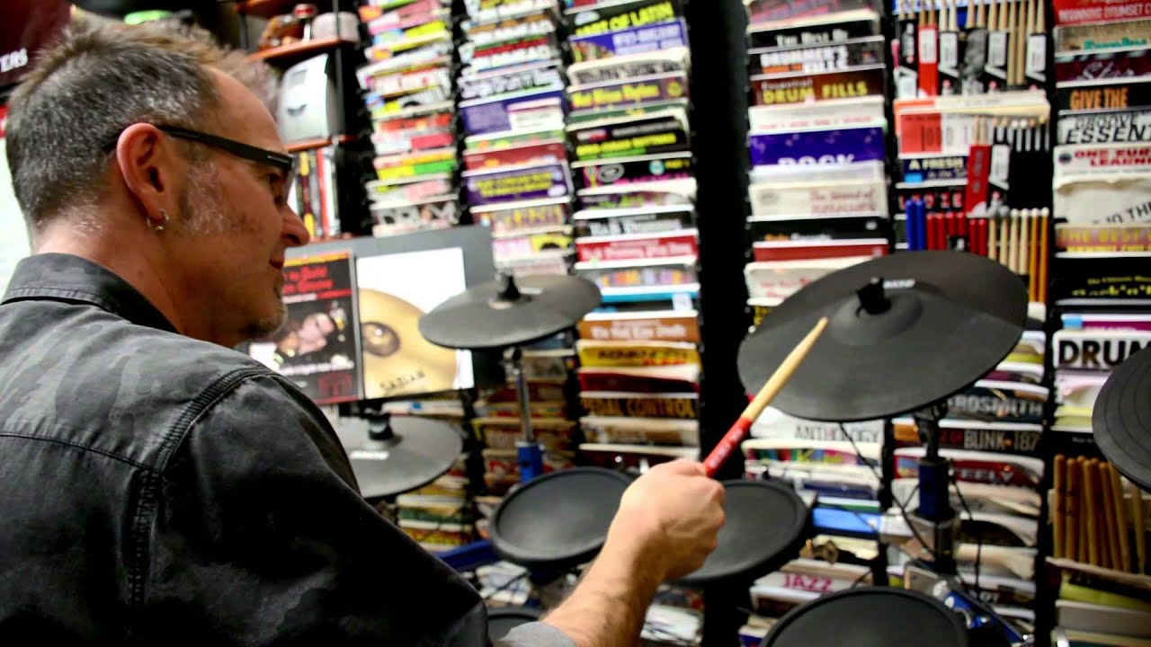 Simmons Sd 1500 Electronic Drum Set Demo Youtube