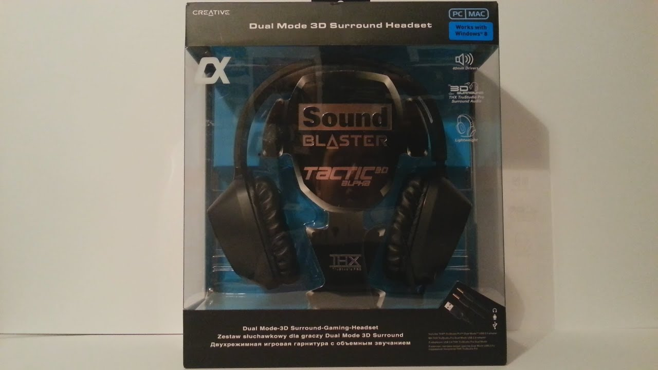 Sound blaster tactic3d sigma pro gaming headset creative labs (uk).