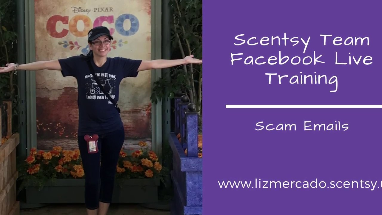 Scentsy Team Facebook Training Scam Emails Youtube