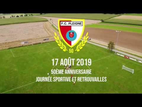 Fc Pleigne 50ème Anniversaire Journée Sportive Du 17 Août