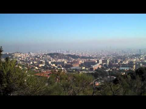 Juicy Hillside Picnic Snackin' Above Barcelona Spain