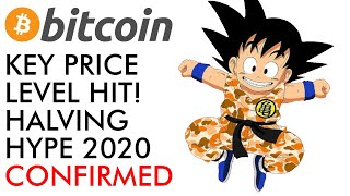 Bitcoin Hits KEY Price Level! 2020 Halving Hype [confirmed]