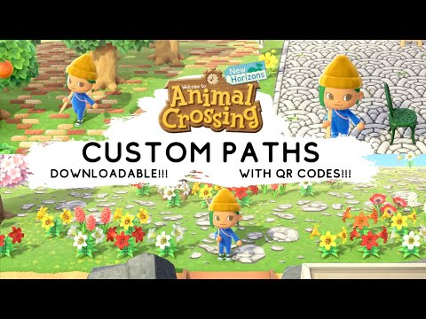 Designing Custom Paths For Animal Crossing New Horizons Brick