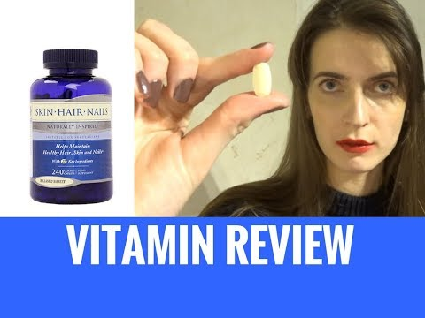 How To Get Beautiful Hair, Skin and Nails -  Holland & Barrett Vitamin Review