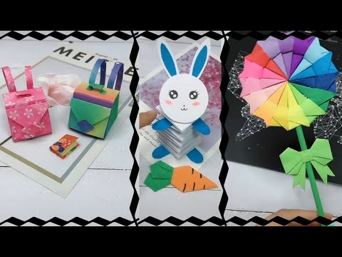 15 Beautiful and Easy DIY Craft Ideas from paper for School and Gifts 2019