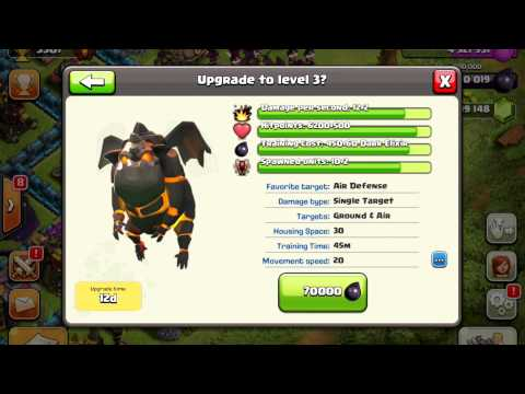 Clash Of Clans - UPDATE! The Lava Hound Has Arrived! Gemming The Update!