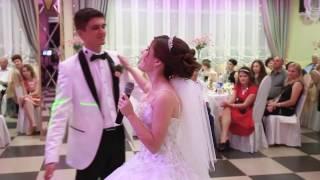 Свадебная песня в подарок для жениха!