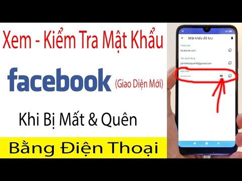 Cách Xem Mật Khẩu Facebook Của Mình Trên Điện Thoại Cực Kỳ Dễ (Giao Diện Facebook Mới)