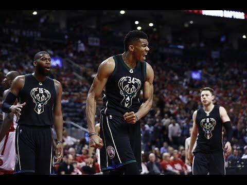 Milwaukee Bucks' Top 10 Plays of the 2016-2017 NBA Season