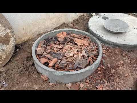 waste water soak pit treatment