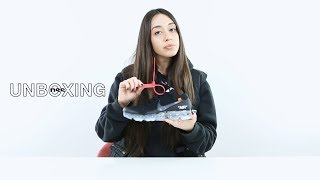 nss unboxing the Nike Air Vapormax FK by Virgil Abloh Off-White w/ Ilaria Bigg