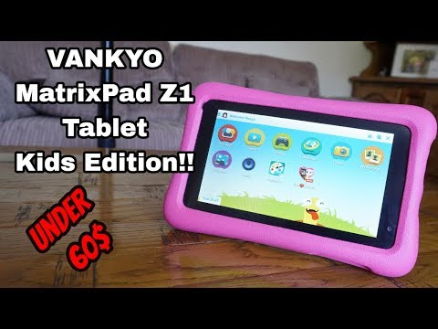 The Best Budget-Friendly Tablets For Kids | Android MatrixPad Z1 Kids Edition | 🔔Kid-Proof Case