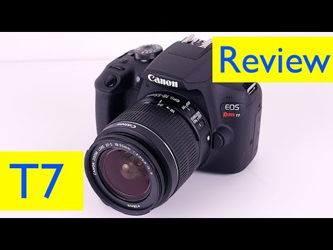 Canon Rebel T7 Review And Photo Test Hd Video Test