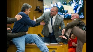 Distraught father of 3 victims tries to physically attack Larry Nassar in courtroom