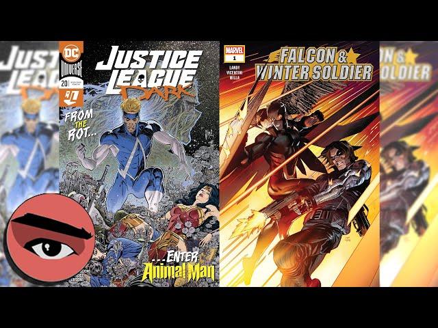 Comic Watchers Show E068 Falcon & Winter Soldier #1 + Justice League Dark #20 Zack Kaplan next week!