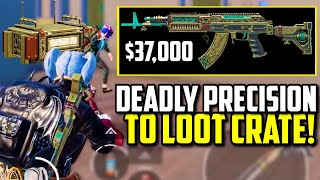 MAXED NEW DEADLY PRECISION M762 SKIN TO LOOT CRATE!   PUBG Mobile