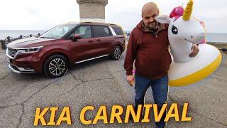 Kia Carnival. Больше кроссовер, чем минивэн? | Наши тесты