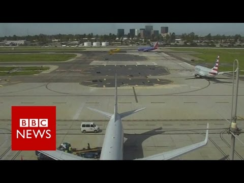 Harrison Ford: 'I'm the schmuck that landed on the taxiway' - BBC News