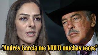 La hija de Andrés García sollozó entre lágrimas al revelar el ASQUER0S0 secreto de Andrés García hoy