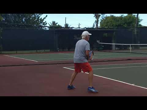 Playing Tennis Pt 1
