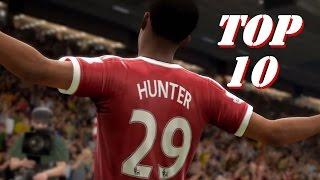 FIFA17: Top 10 Amazing Alex Hunter's Goals (The Journey)