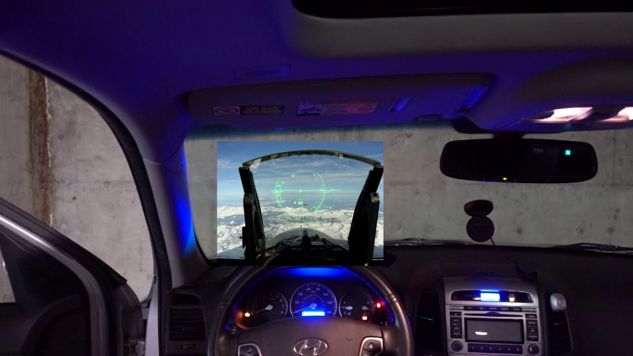 Hack Your Car into the Future with an LED Heads-Up Display