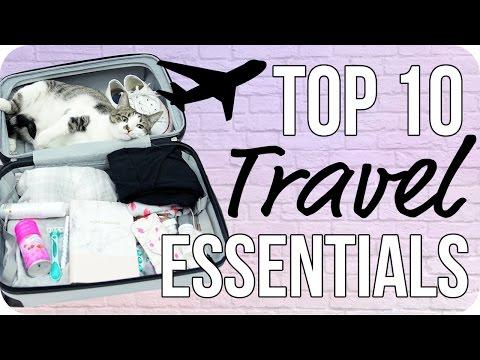 Top 10 Travel Essentials!