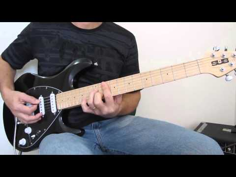 Guitarra Sterling - S.U.B. SILO3 bk - by Music Man