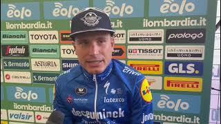 """Secondo al Giro di Lombardia, Masnada: """"Lo dedico ai bergamaschi"""""""
