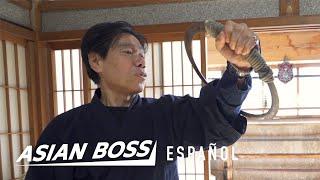 El último ninja de Japón explica cómo corre Naruto | Asian Boss Español