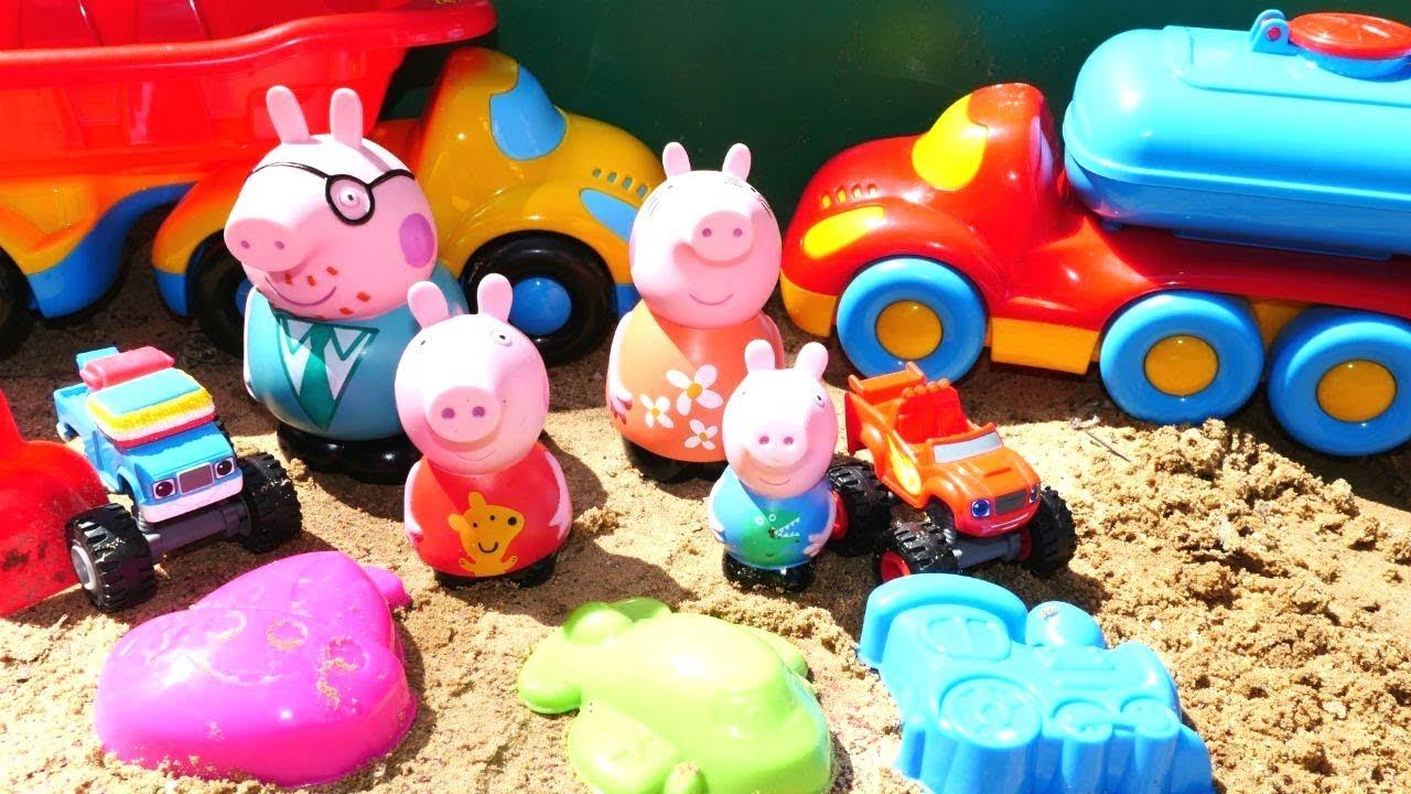 Мультики для детей — Свинка Пеппа и машинки Вспыш ...