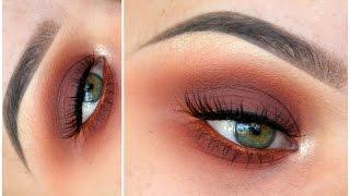 Warm Smokey Eye ft. ABH Modern Renaissance Palette | MakeupwithJah