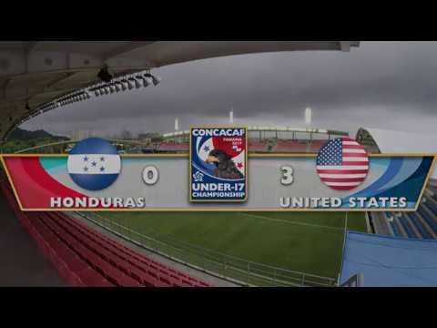 CU17PAN: Honduras vs United States Highlights