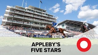 Charlie Appleby's Five Stars