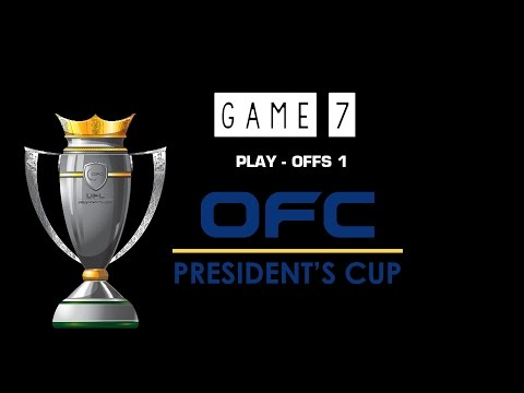 OFC PRESIDENTS 2014 | MD4 | GAME 7 | BODDEN TOWN vs FIJI U20 | 5/6 PLAY - OFFS