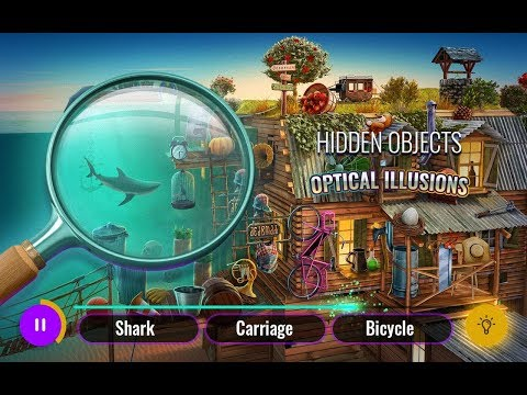 Optical Illusions Hidden Objects Game – Best Seek and Find Games for Android 2018