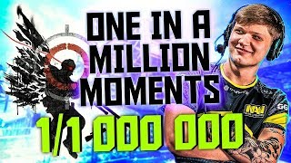RARE CS:GO MOMENTS! (ONE IN A MILLION)