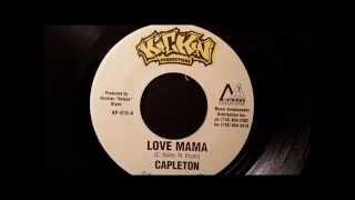 "Capleton - Love Mama - Kickin 7"" w/ Version"
