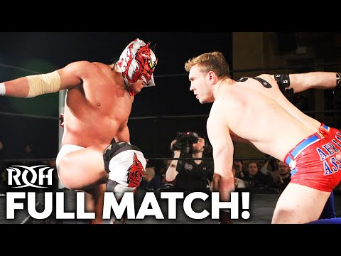 Dragon Lee Vs Will Ospreay: FULL MATCH! (ROH Manhattan Mayhem 2017)