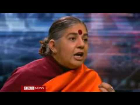 A Billion Go Hungry Because of GMO Farming  Vandana Shiva