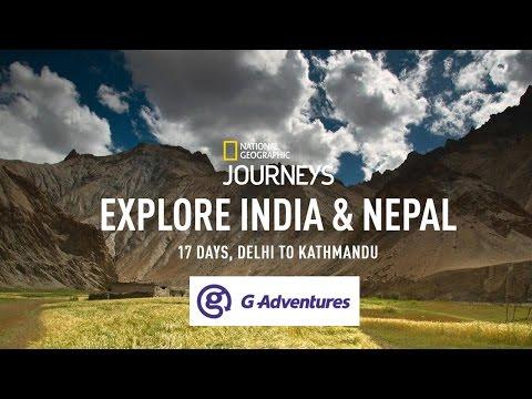 17 Days India & Nepal G Adventures Tour